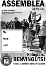 cartelSE ASAMBLEA refugiados A3-catalan
