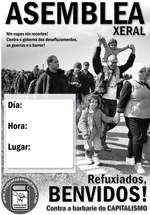 cartelSE ASAMBLEA refugiados A3-gallego