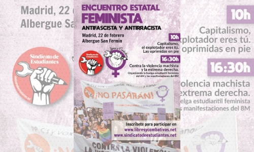 Encuentro Estatal feminista, antifascista y antirracista